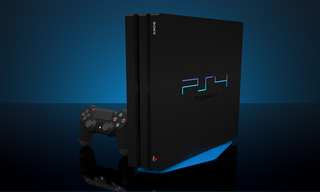 PlayStation 4 Pro 128 bit Painted