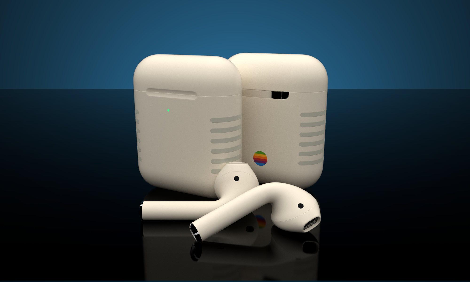 Custom Airpods Retro Limited Edition