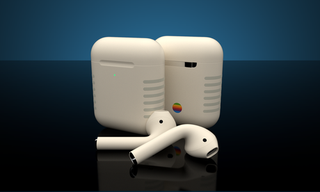 ColorWare AirPods Retro with wireless charging case