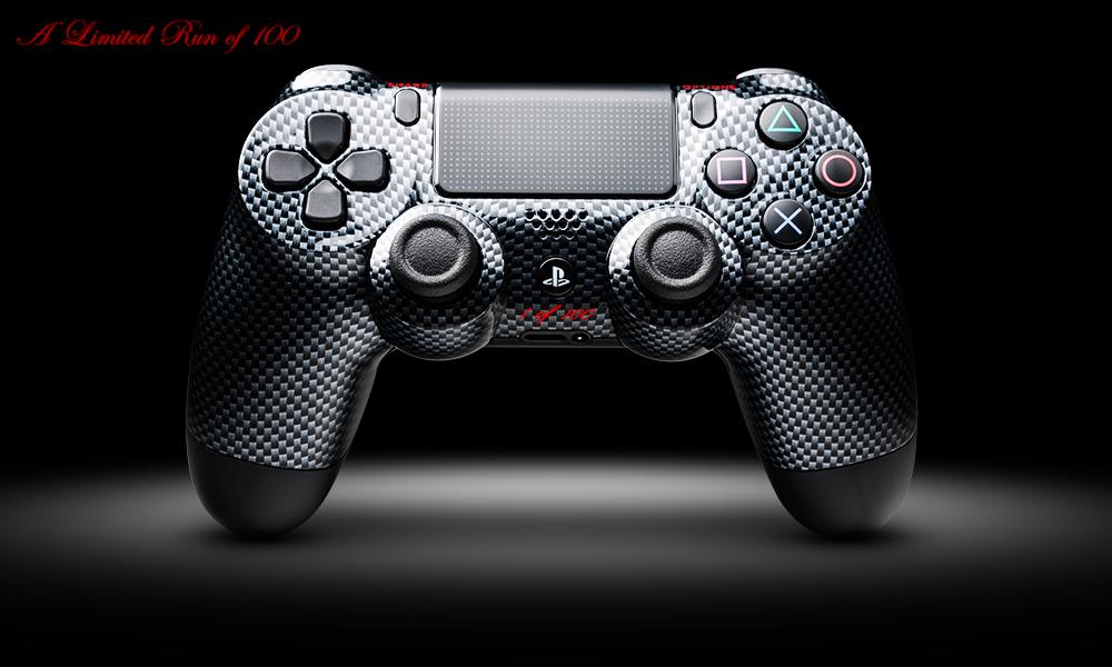 Custom Dualshock 4 Controller   Carbon Fiber PS4 Controller