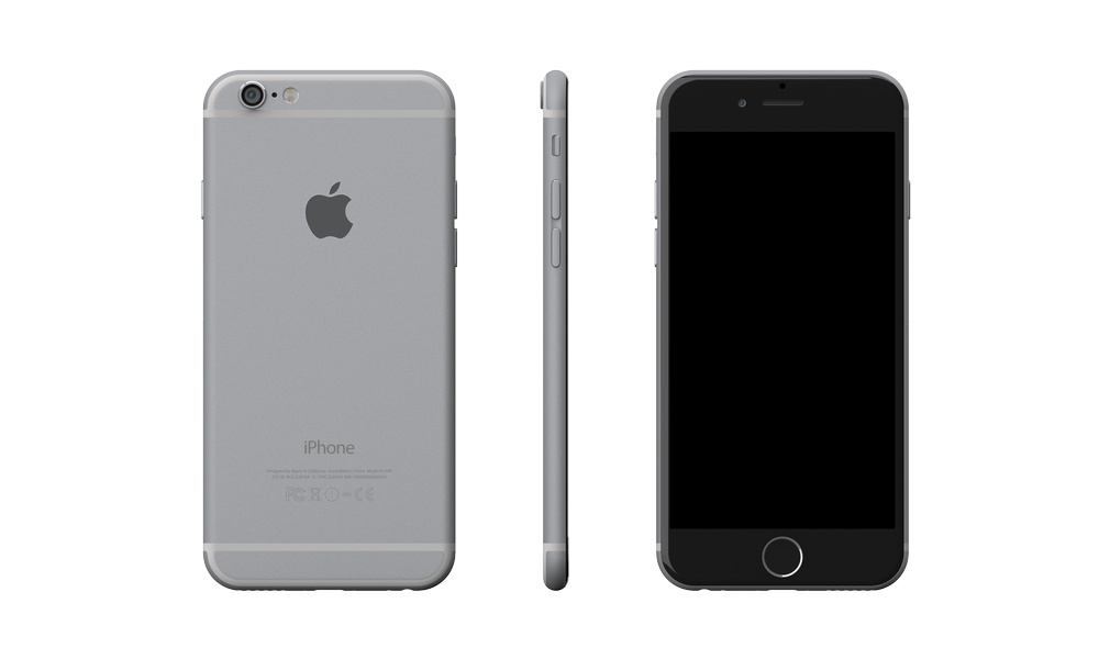 White Iphone 6 Transparent Png