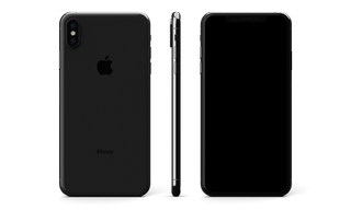iPhone Original XS Max Glass Only Skin