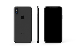 iPhone XS Glass Only Skin