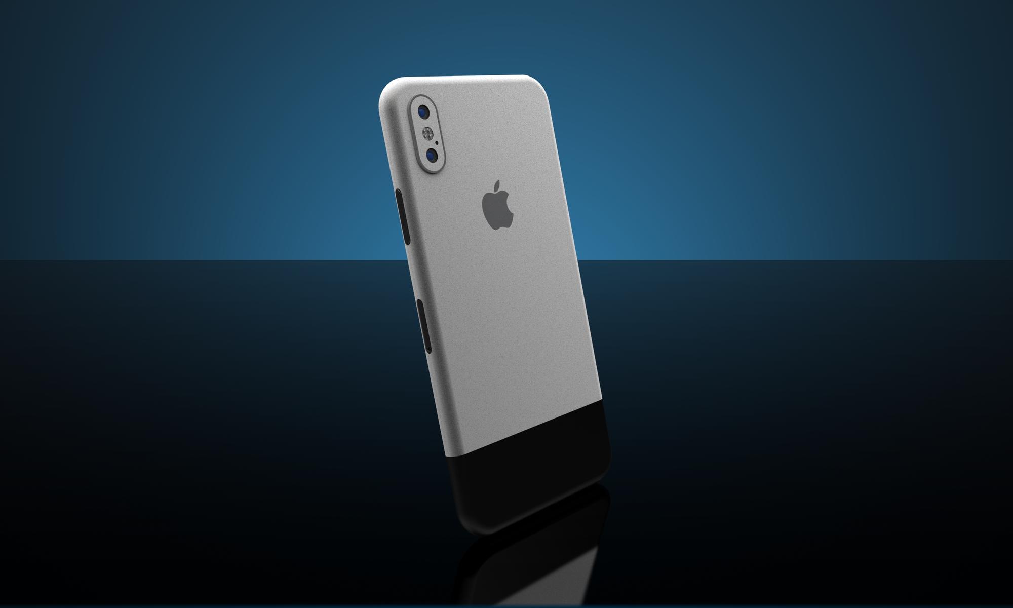 new concept a7748 cbd14 Original iPhone X Full Back skin