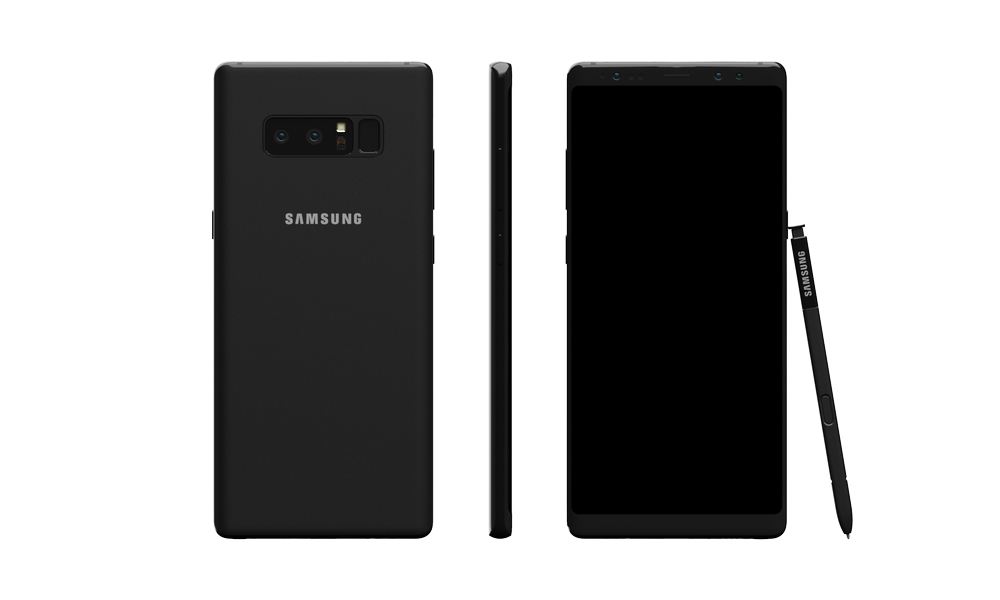 Samsung Galaxy Note8 Skin Dlb99j1rm9bvrcloudfront Midnight Black